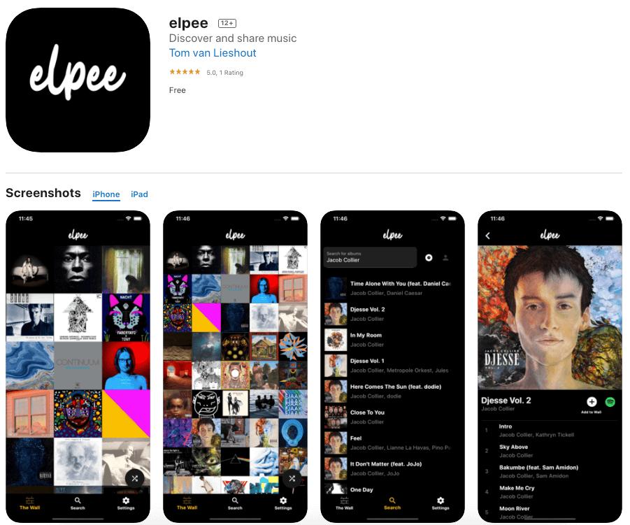 Elpee-music-app