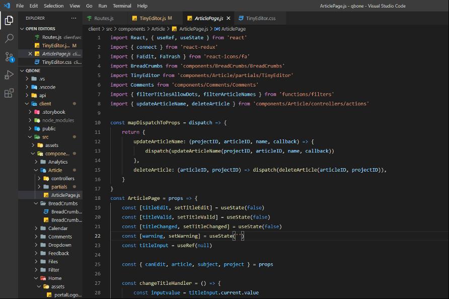 Developer-code